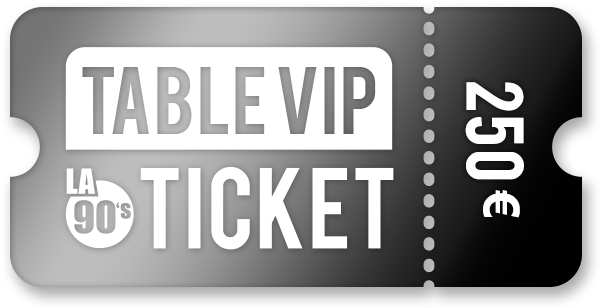 Table VIP ticket